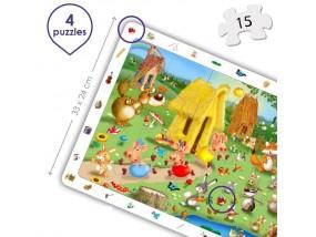 obrázek Sada objevné puzzle