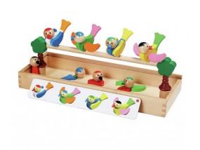 obrázek Tvořivá hračka - šťastní ptáci