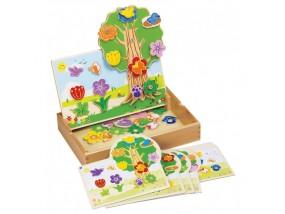 obrázek Tvořívá hračka - květinová zahrada