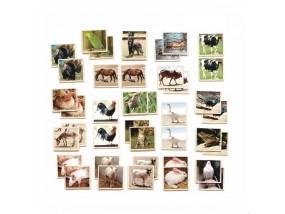obrázek Pexeso - zvířata na farmě