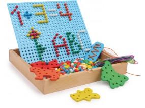 obrázek Provlékací a zastrkávací puzzle