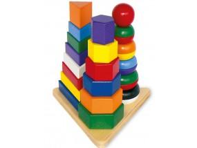 obrázek Motorická hračka - pyramida