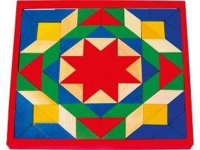obrázek Dřevěná mozaika