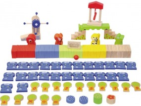 obrázek Dřevěné domino ZOO