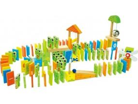 obrázek Dřevěné domino Žaba