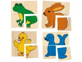 obrázek Puzzle a pexeso - Karemo