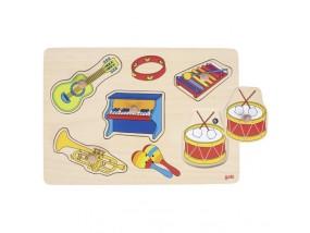 obrázek Puzzle se zvuky hudebních nástrojů