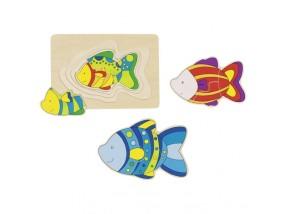obrázek Vrstvené puzzle - Ryba