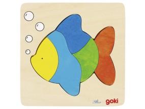 obrázek Vkládací puzzle - Ryba