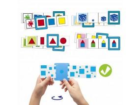 obrázek Karty pro učení barev, tvarů a velikostí