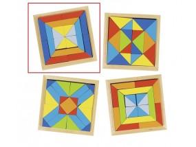 obrázek Dřevěný hlavolam - Mozaika 1