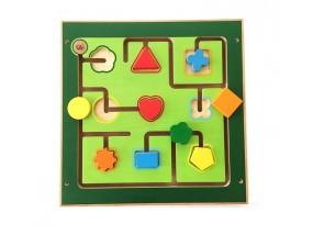obrázek Hra na stěnu - tvary
