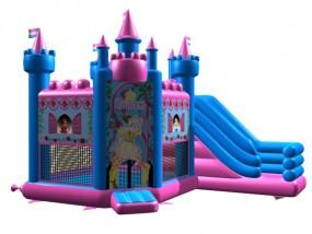 obrázek Pronájem - PRINCEZNA nafukovací profi skákací hrad