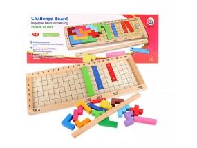 obrázek Dřevěná desková hra - tetris
