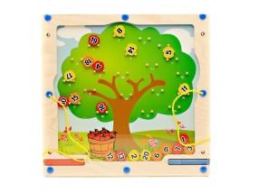 obrázek Hra na stěnu - jablka